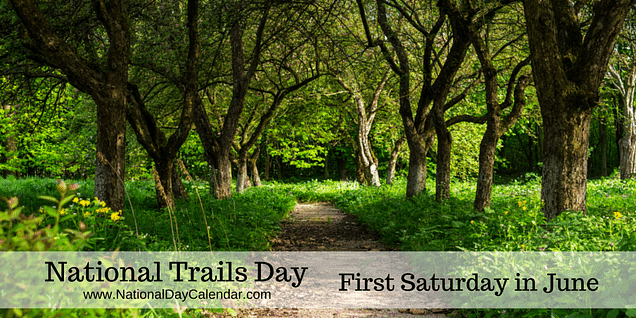 Celebrate NATIONAL TRAILS DAY June 6, 2020